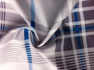 Microfiber fabric printed