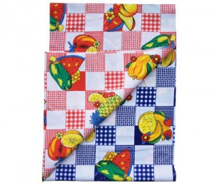 mini matt printed fabric