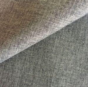 Polyester two tone mini matt fabric for outdoor sofa