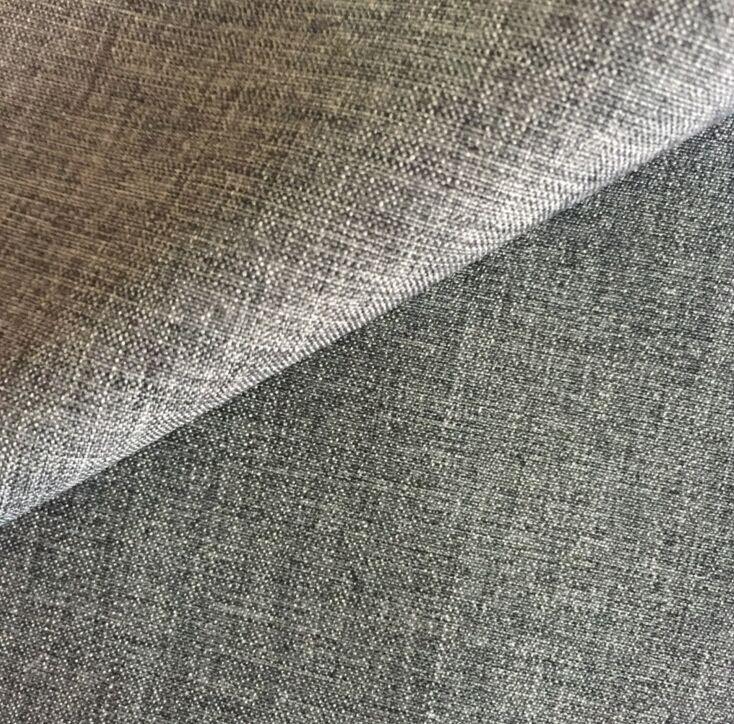 Poliéster tejido en dos tonos de mini mate de sofá al aire libre